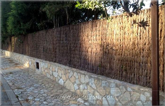 Obras a destacar clientes y trabajos realizados por bruc - Vallas decorativas para jardin ...
